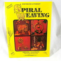 Wheat Straw Spiral Weaving Instruction Book New Wheatcraft Banbury 30 De... - $38.52