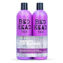 Tigi Tigi Bed Head Dumb Blonde Shampoo & Reconstructor Conditioner Duo Pack, 50