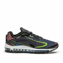 finest selection b6640 13ac9 Uomo Nike Air Max Lusso Scarpe Nere Midnight Navyn AJ7831 001 Msrp -  99.93