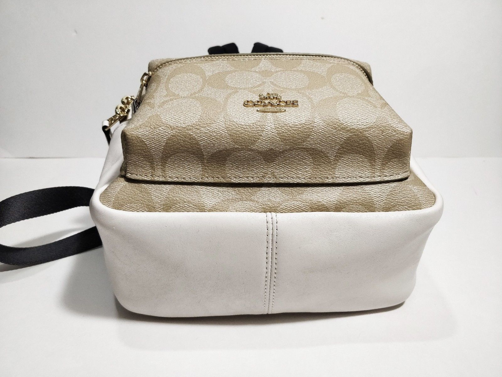 b6e702f41 ... coupon for coach mini charlie backpack white 77167 b2d75