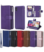 Car Holder Leather Card Slot Magnetic Stand Cover Fr iPhone X/XS XS MAX6... - $79.20