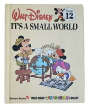 Walt Disney Fun-To-Learn Library Volume 12 Book Only Its's A Small World... - $9.79