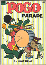 Pogo Parade Comic Book #1 Dell Giant 1953 Very FINE- Very Pretty - $169.23