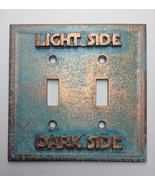 Star Wars (Light/Dark Side) Double Light Switch Cover (Patina) - £18.35 GBP