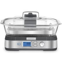 CUISINART STM-1000C Cook Fresh Digital Glass Steamer, Silver  - $295.23