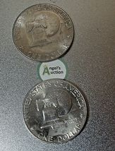 Eisenhower Dollar 1976 P and 1976 D AA20D-CND8003 image 8