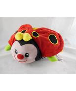Count & Hug Bug Ladybug Plush Learning Toy Crinkle wings Musical Sound b... - $8.31