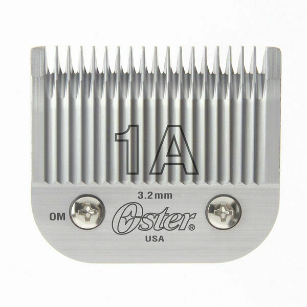 """Oster Professional Detachable Clipper Blade Size 1A 1/8"""" (3.2mm) #76918-076 - $33.61"""