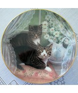 Romeo & Juliet Cat Collector Plate American Artists Porcelain - $21.99