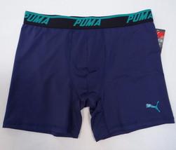 Men's Puma Sport Stretch Boxer Brief Underwear Blue 888435879527 - $22.49