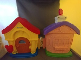 Fisher-Price Magic of Disney Mickey and Minnie's House Playset by Little... - $10.00