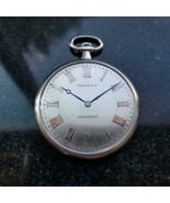 TIFFANY & CO Rare Platinum 14736 Pocket Watch 45mm, c.1930s Swiss Luxury... - $6,831.00