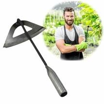 Hollow Hoe Hardened All-Steel Handheld Weeding Rake Planting Vegetables ... - £7.19 GBP
