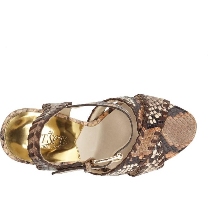 new style fc777 e6139 Women MICHAEL Michael Kors Odessa Snake and 50 similar items