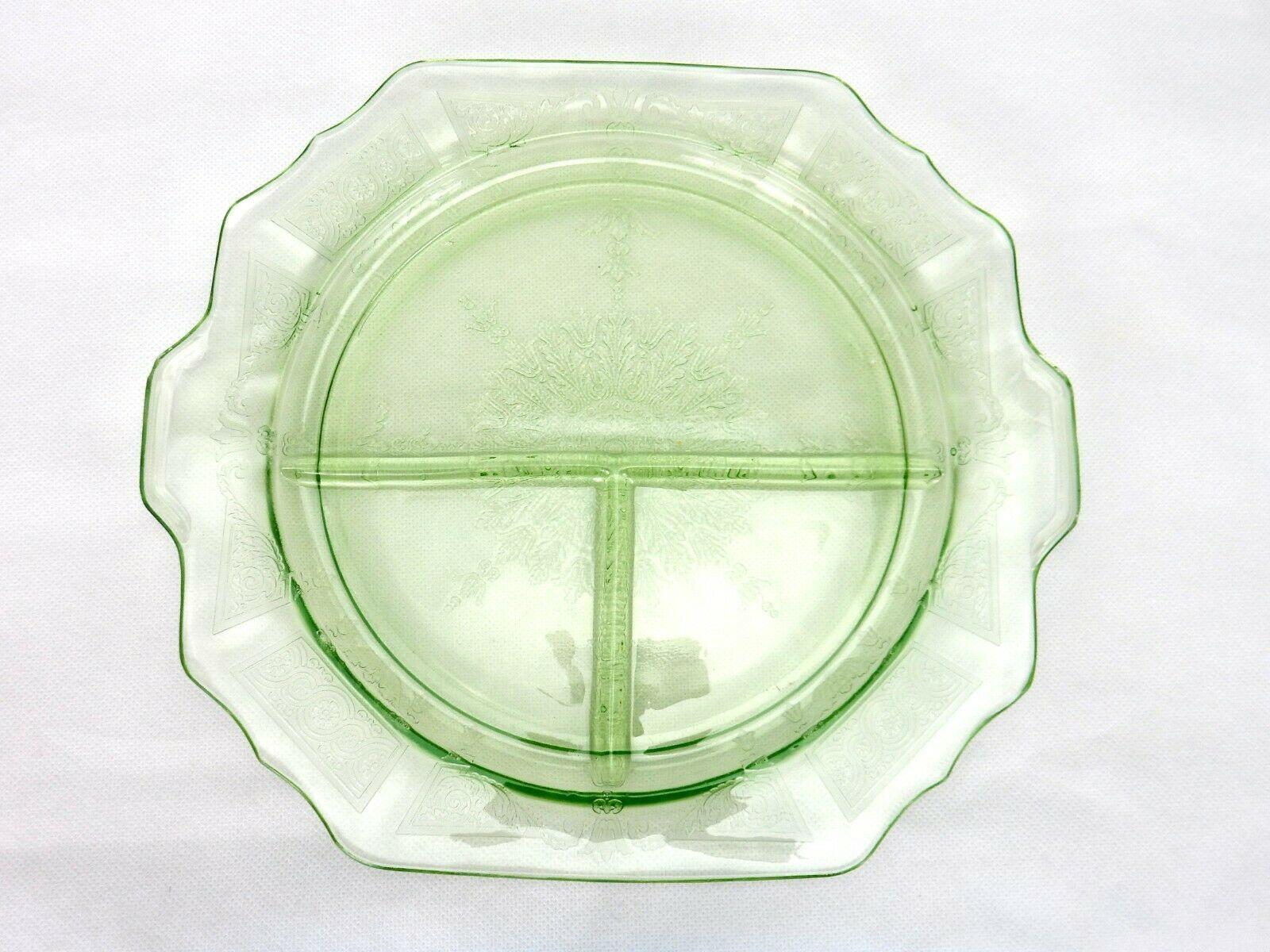 Hocking Glass Princess 10 12 Grill Plate