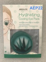 ABSOLUTE NEW YORK DE-PUFFING COOLING EYE PADS SKIN QUENCHING ALOE & VITA... - $2.56