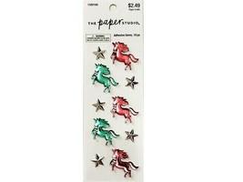 The Paper Studio Unicorn Adhesive Gem Stickers #1580166