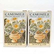 Vintage Crabtree & Evelyn Camomile 3oz. Soap Bars - Lot of 2 - Made in E... - $46.72