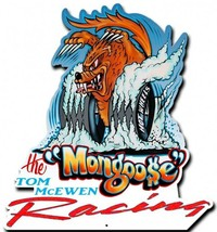 Mongoose Racing Plasma Cut Metal Sign - $39.95