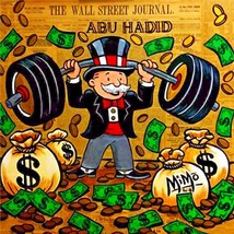 Alec Monopoly Oil Painting on Canvas Urban art ... - $31.67