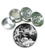 "Vintage New Years Eve D6 Aluminum Herb Grinder 2.5"" 63mm 4 Piece - $13.81"