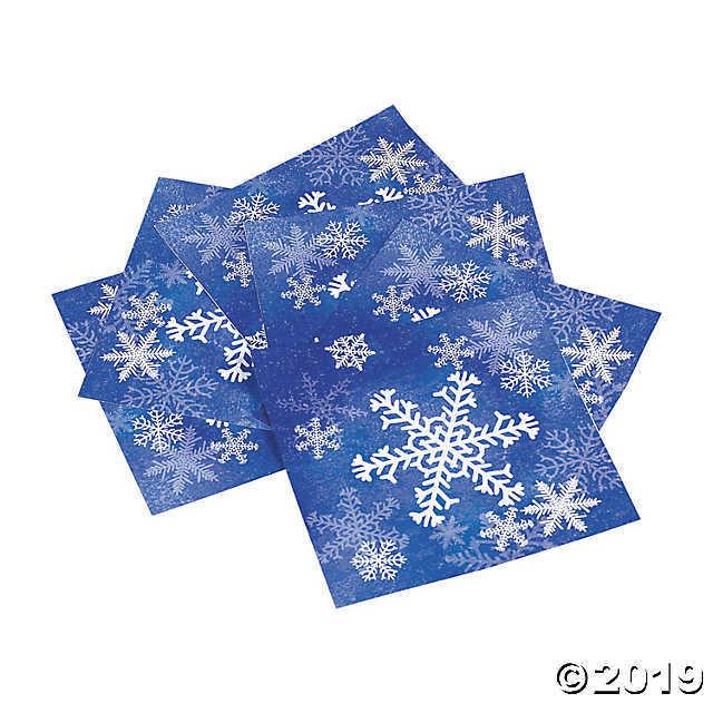 Snowflake Napkins  - $3.24