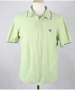 Ralph Lauren Chaps Mens Green Polo Shirt Size XL - $14.84