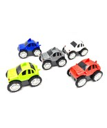 Flip Over Cars Turbo Wheels Battery Power Rollover Light Up Toy Vehicles... - $6.99