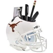 Texas Longhorns NCAA Football Schutt Mini Helmet Desk Caddy - $21.95