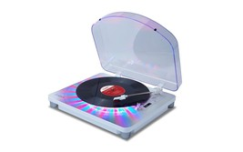 ION PHOTON LP IT70 Multi-Color Lighted USB Record Player Turntable NEW - £76.66 GBP