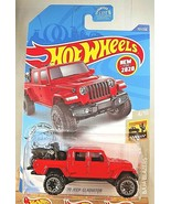 2020 Hot Wheels #157 Baja Blazers 4/10 '20 JEEP GLADIATOR Red w/Gray Bea... - $7.95
