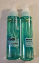 Garnier SkinActive Vegan Hydrating Facial Mist Aloe Juice 4.4 fl oz Lot of 2 - $13.86