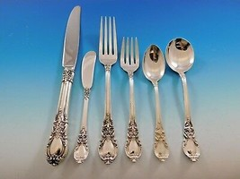 American Victorian by Lunt Sterling Silver Flatware Set for 12 Dinner Service - $4,650.00