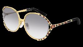 NEW Gucci Sunglasses GG0595S 005 Gold Black/Grey Lens Design 64mm - $281.30