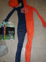 boys Paper Magic costume Alburn University child skin 10-12.orange blue ... - $9.99