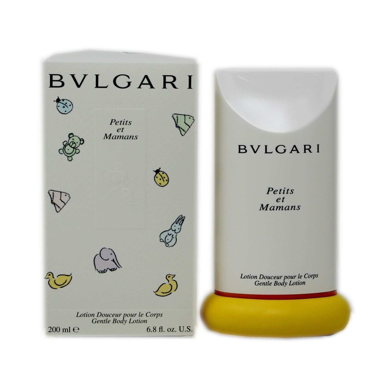 Primary image for BVLGARI PETITS ET MAMANS GENTLE BODY LOTION 200 ML/6.8 FL.OZ. NIB-BV10038282