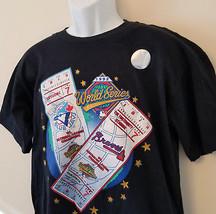 1992 Baseball World Series shirt Toronto Blue Jays VS Atlanta Braves Sz-... - $29.95