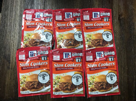 McCormick Slow Cookers BBQ Pulled Pork Mix, 1.6 oz (Pack of 6) - $59.00