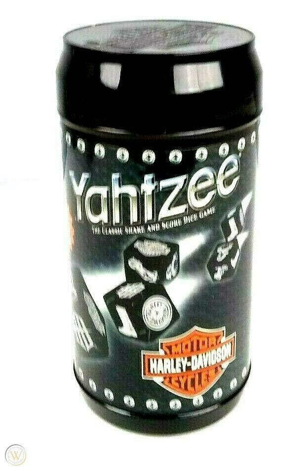 Harley Davidson Yahtzee Great Travel Game  - $27.23