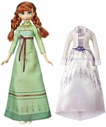 Disney Frozen Arendelle Fashions Anna Fashion Doll with 2 Outfits Green ... - $24.44