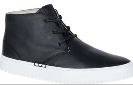 Sperry Top-Sider Donna Endeavor Nero Pelle Scarponcini Chukka Sneaker Scarpe Nib