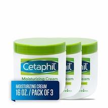Cetaphil Moisturizing Cream for Very Dry/Sensitive Skin, Fragrance Free, 16 Ounc