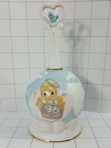 """Precious Moments  Bell """"Peace On Earth Anyway 1996""""  angel, heart and bi... - $11.95"""
