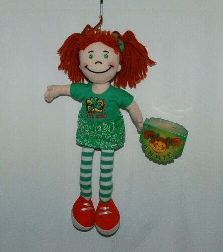 Kiddiefun 15401 Annie Irish Babe Cloth Doll Yarn Hair 12 Inch 3 Plus Ages