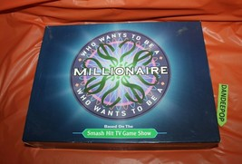 Pressman Who Wants To Be A Millionaire Board Game Trivia - $19.79