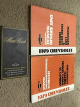 1979 chevrolet monte carlo owners manual & electrical wiring & unit set - $34.56