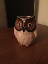 Vintage Cute Night Owl Pencil Cup Holder - $29.99