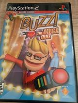 Sony PS2 Buzz! The Mega Quiz image 1