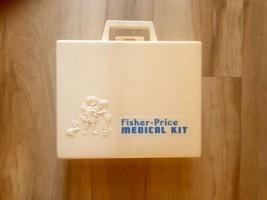 Vintage 1977 Fisher Price Medical Kit Doctor/ Nurse - $12.64