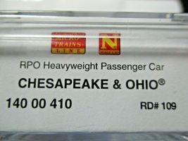 Micro-Trains #14000410 Chesapeake & Ohio Heavyweight RPO Passenger Car N-Scale image 5